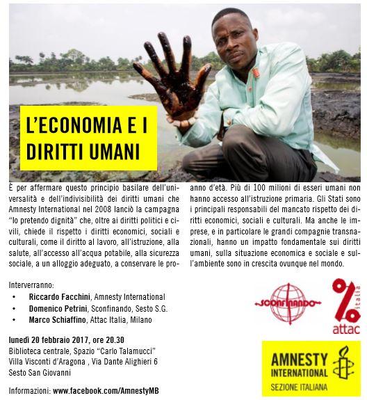 Sconfinando per Amnesty2017