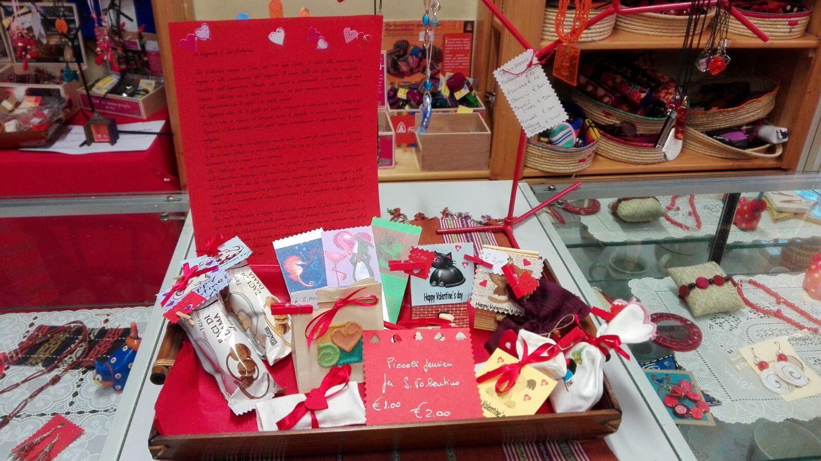 San Valentino idee regalo equosolidali-proposte