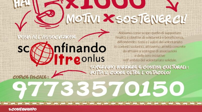 5x1000 SconfinandoOltreOnlus